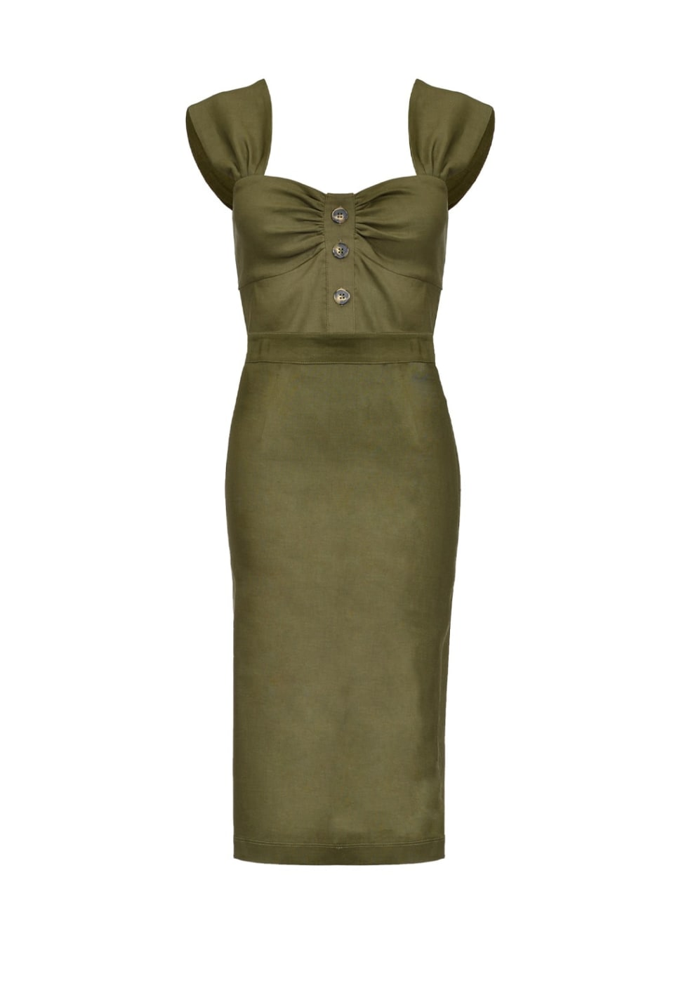 Sheath dress with buttons - Pinko