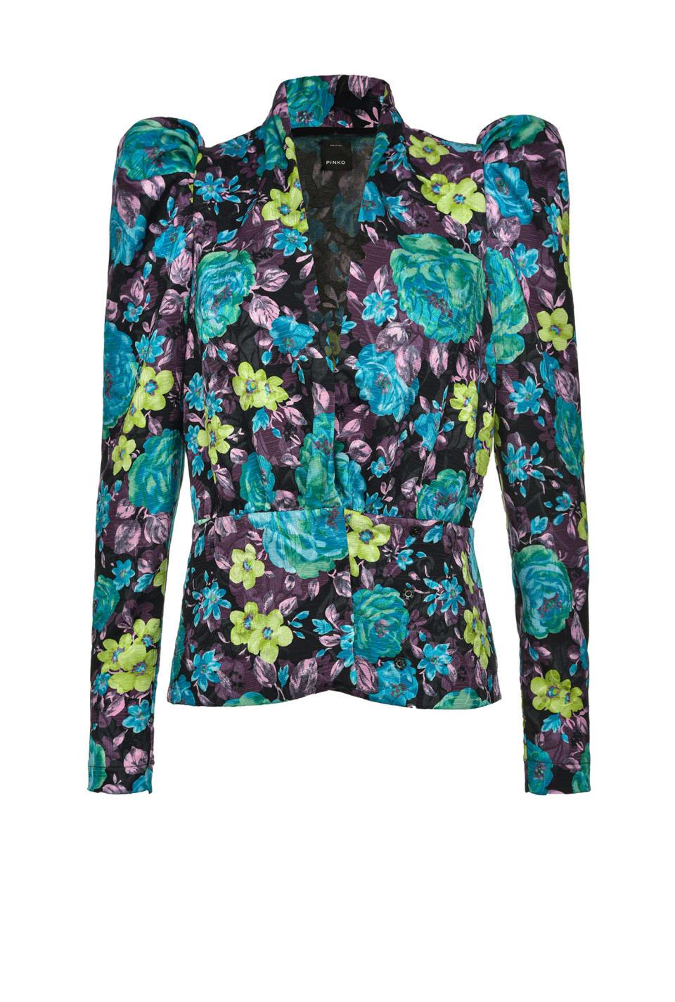 Floral jacket - Pinko