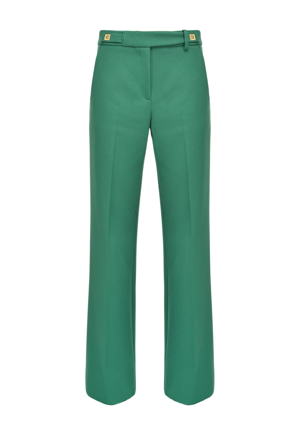 Seventies trousers in heavy crepe - Pinko