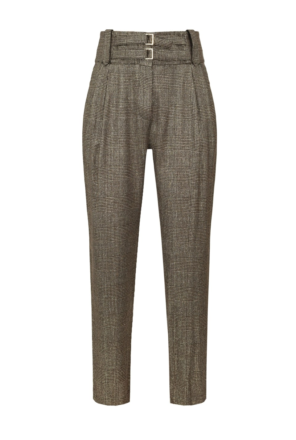 Trousers in lamé flannel - Pinko