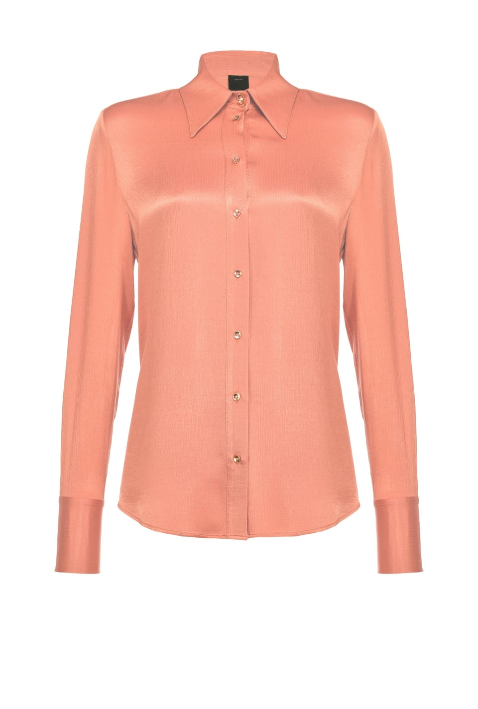 Supple shirt in friossé satin - Pinko
