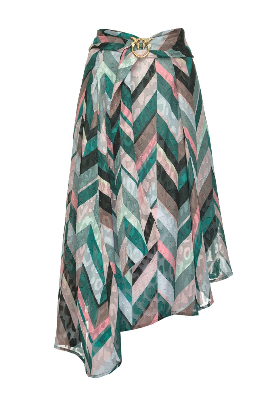 Chevron striped skirt - Pinko