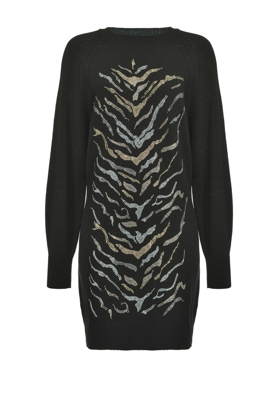 Maxi pullover with tiger pattern - Pinko