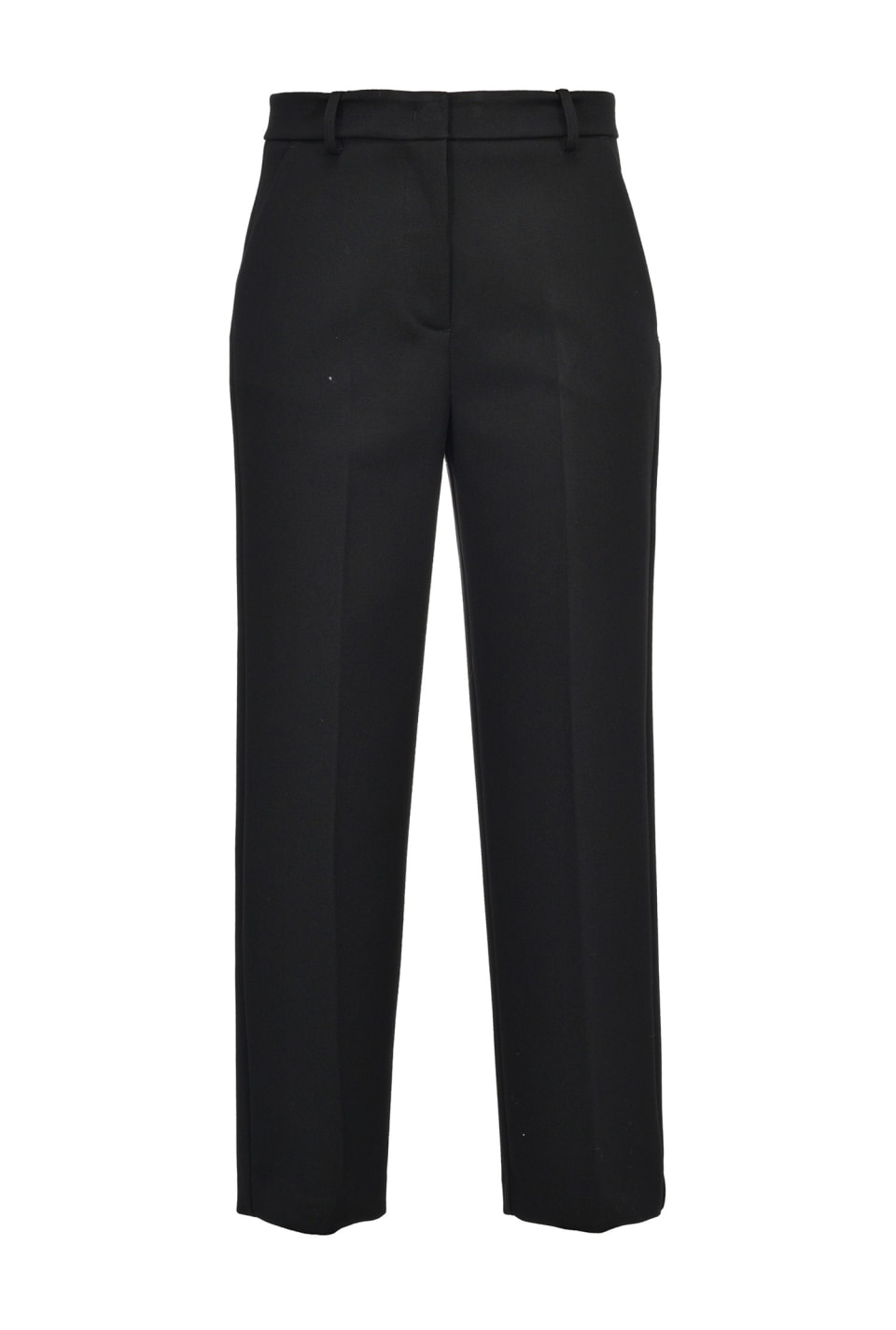Straight heavy crepe trousers - Pinko