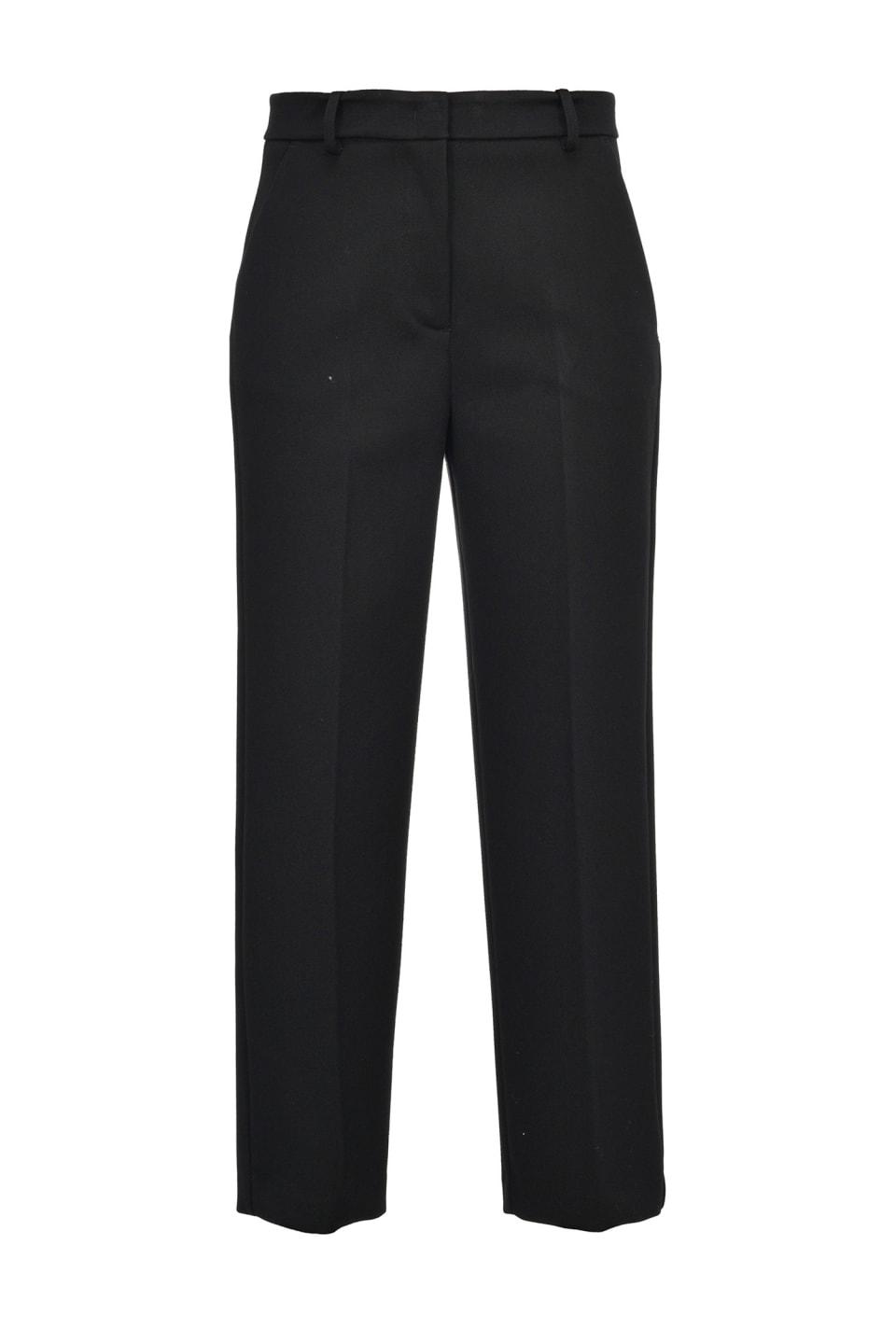 Pantaloni straight heavy crêpe - Pinko