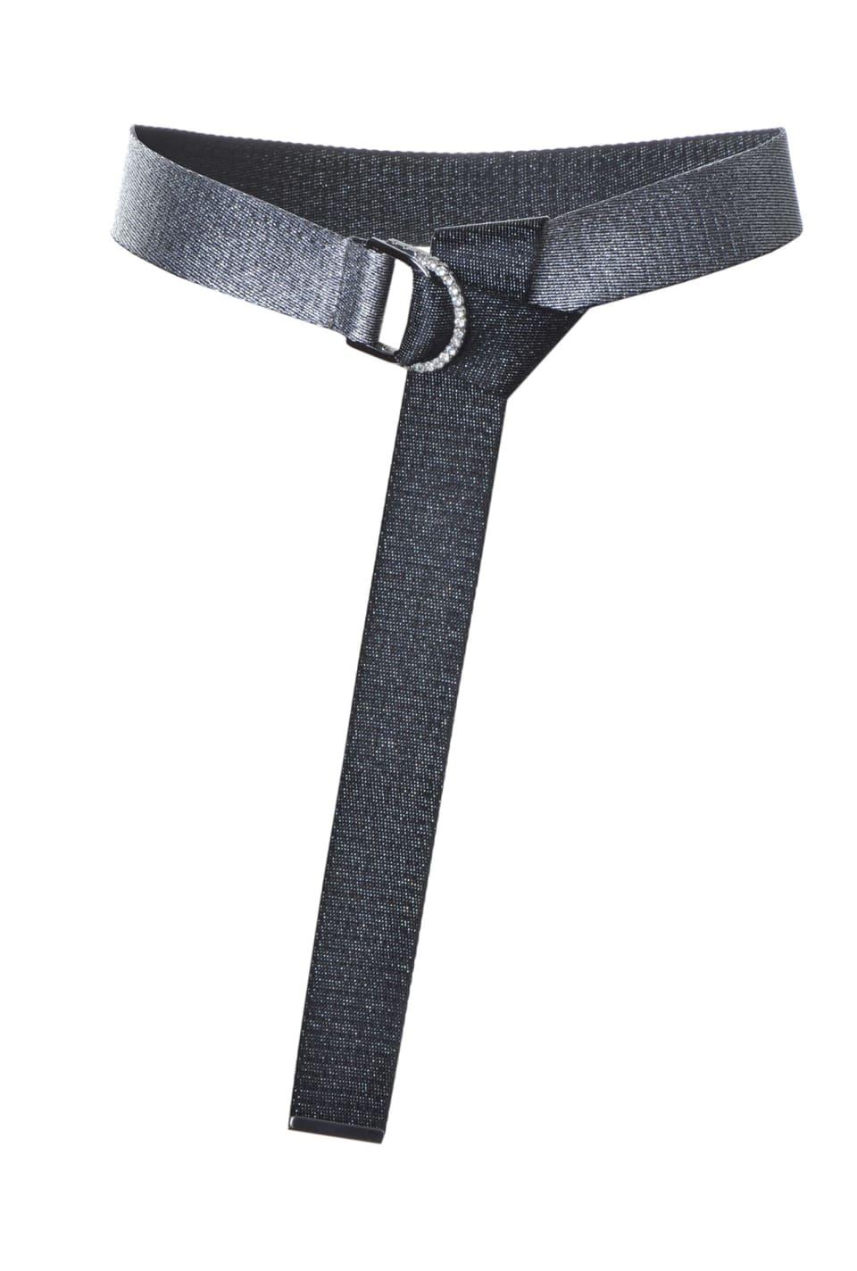 Cinturón de cinta de lúrex