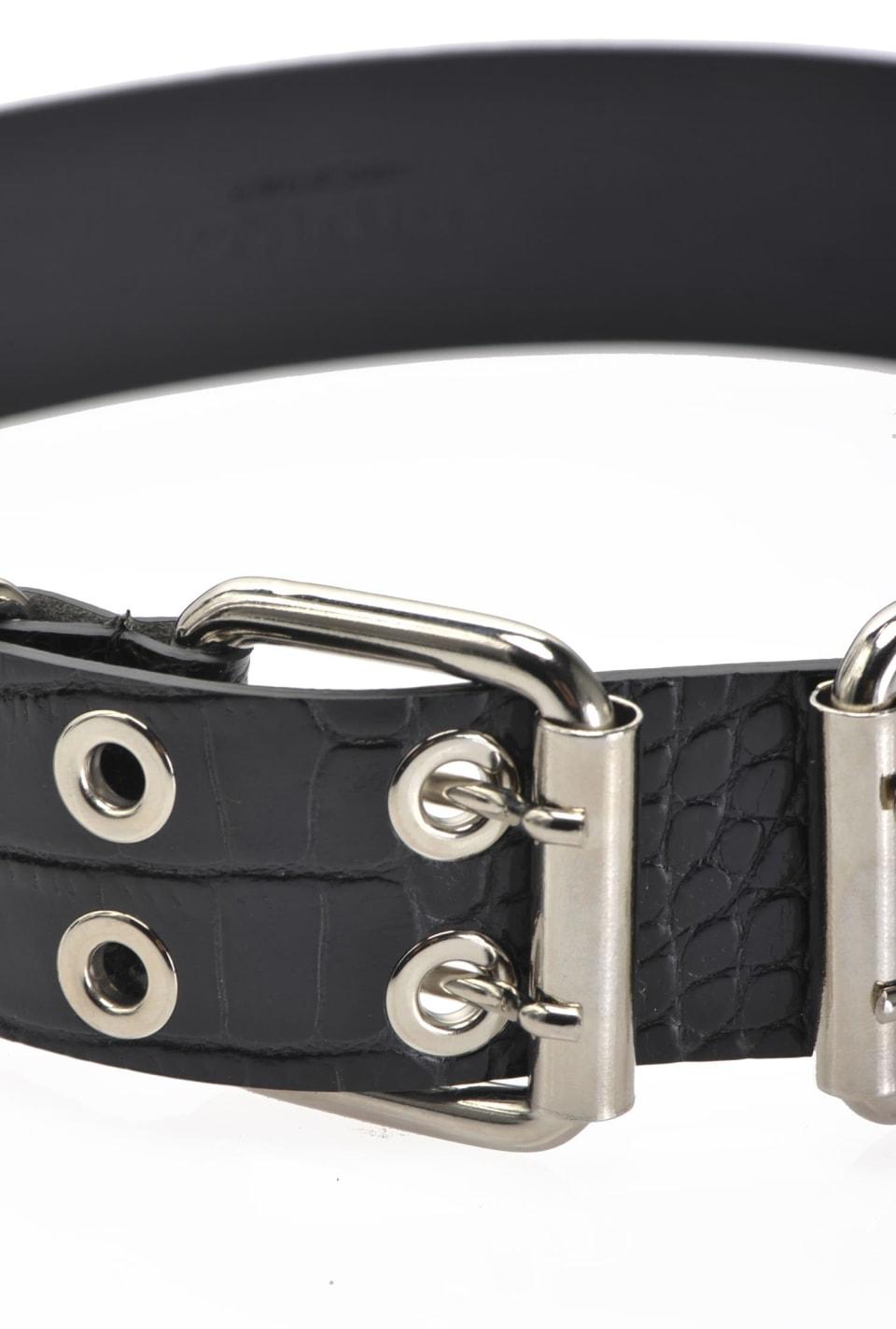Cinturón con hebilla doble