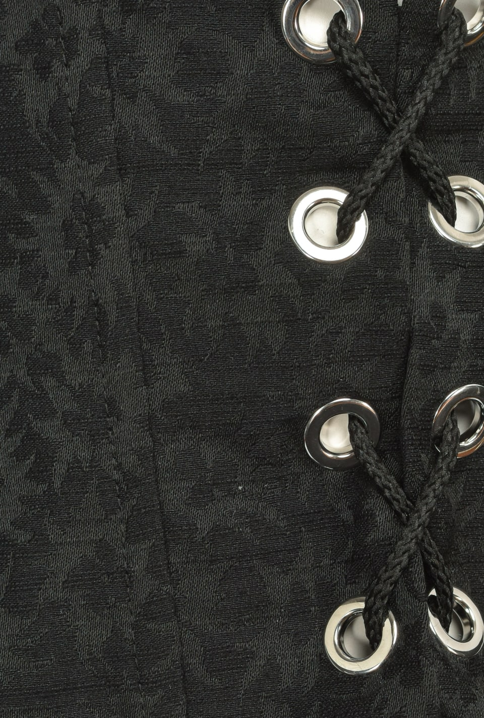 Cinturón tipo corpiño jacquard - Pinko