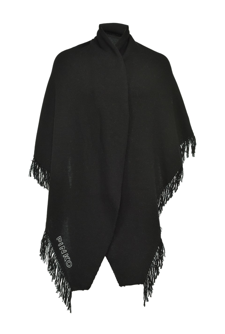 Maxi shawl with fringe - Pinko