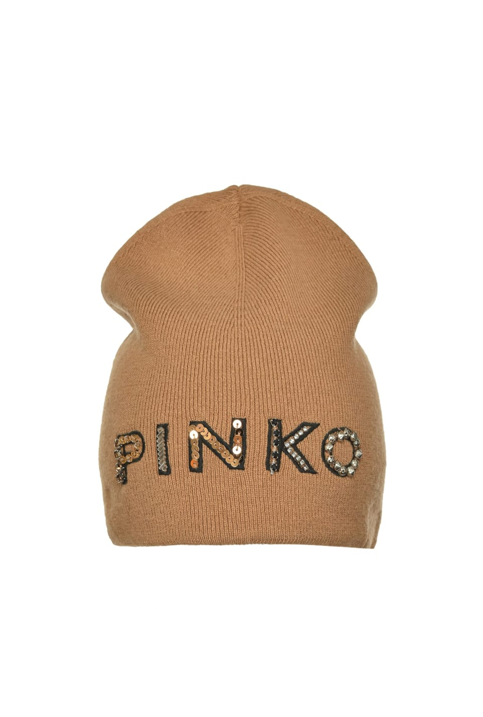 Beanie with PINKO embroidery - Pinko