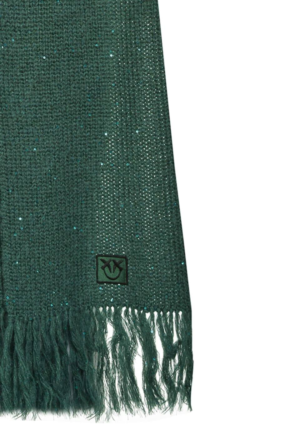 Maxi scarf with sequins - Pinko