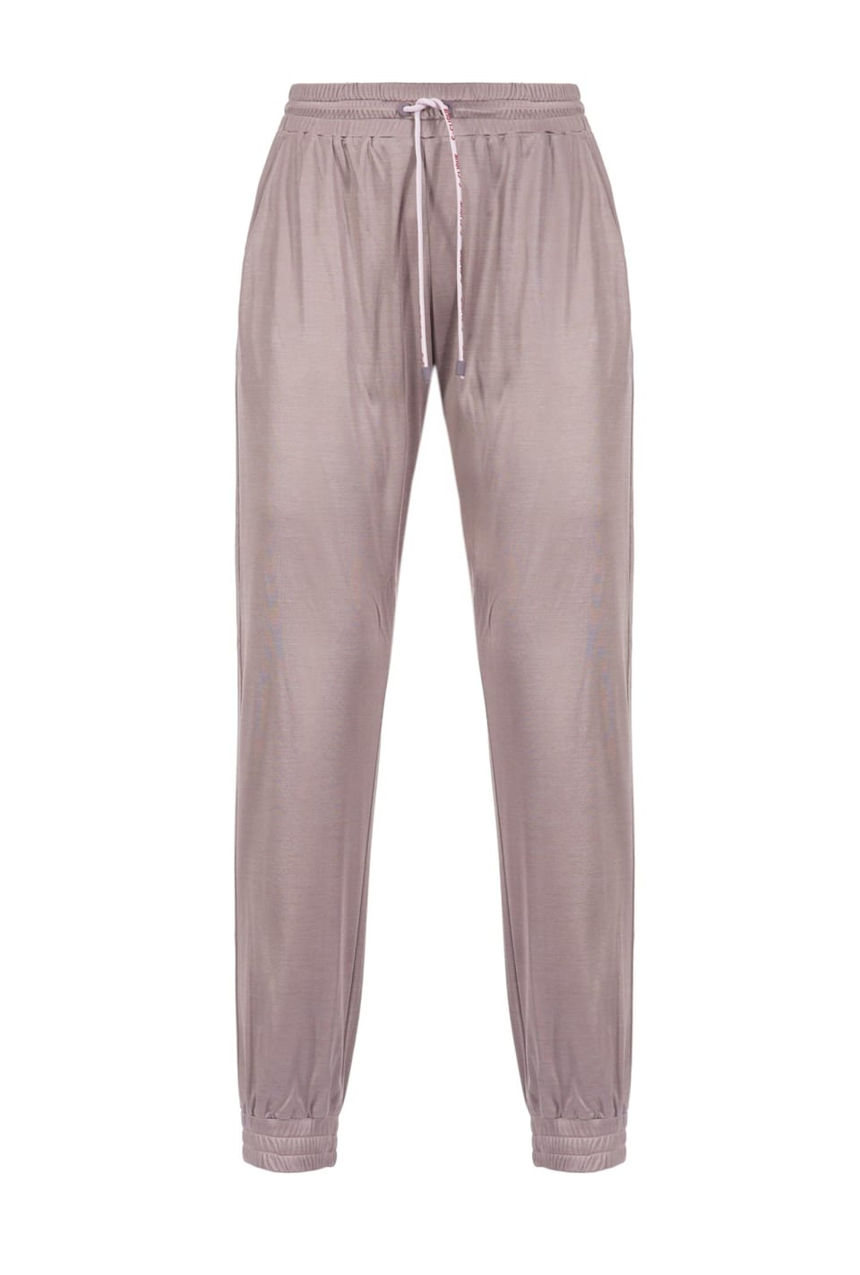 Pantalon de jogging en interlock brillant