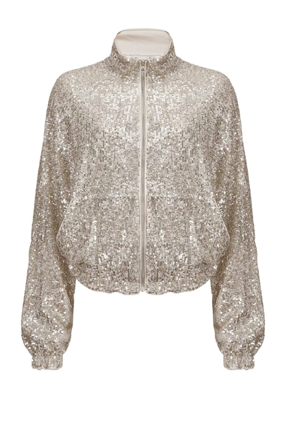 Full sequinned jacket