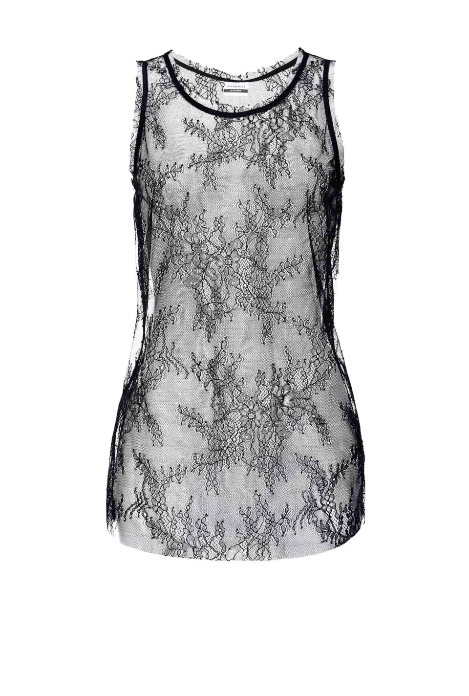 Valenciennes lace top