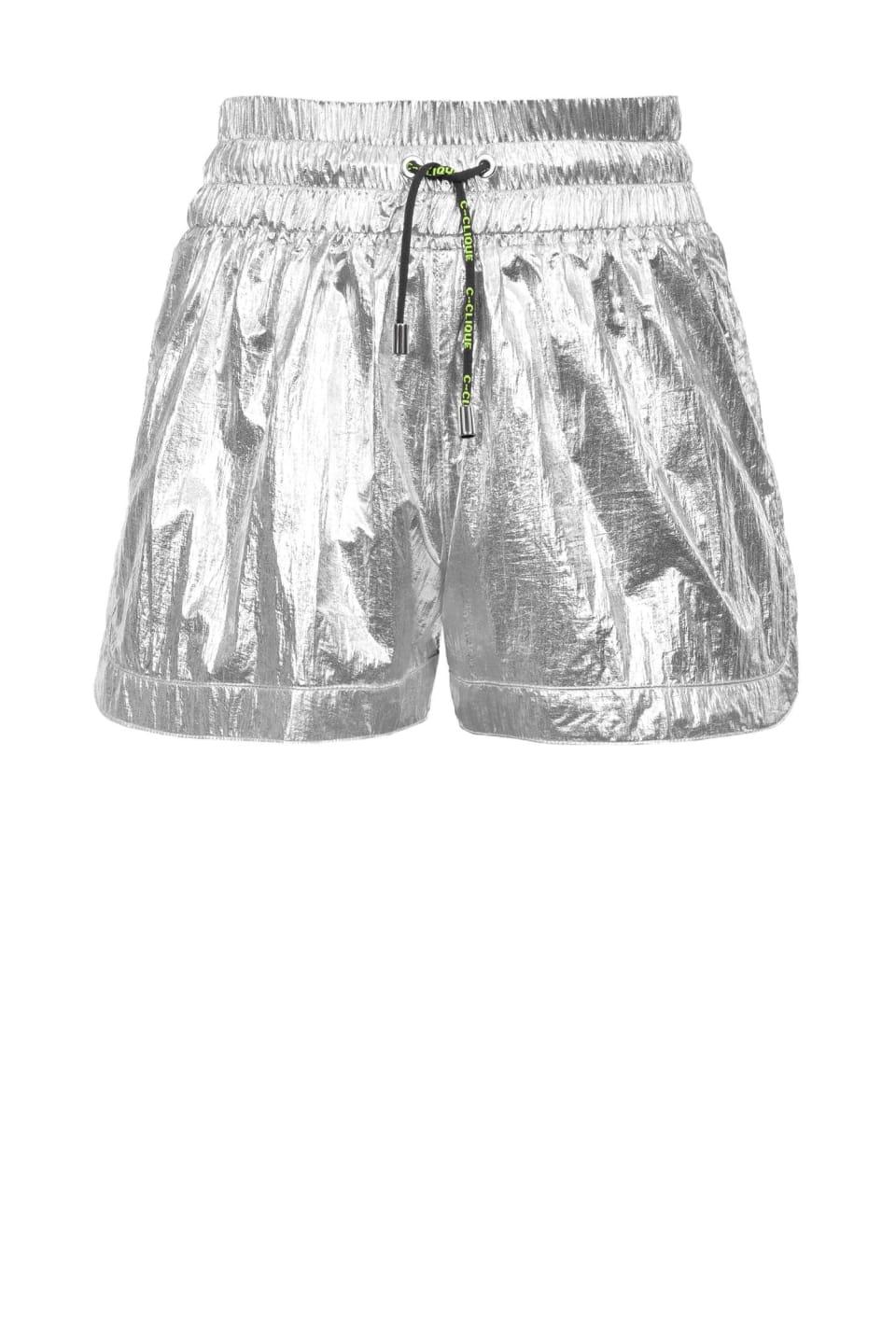 Laminated shorts