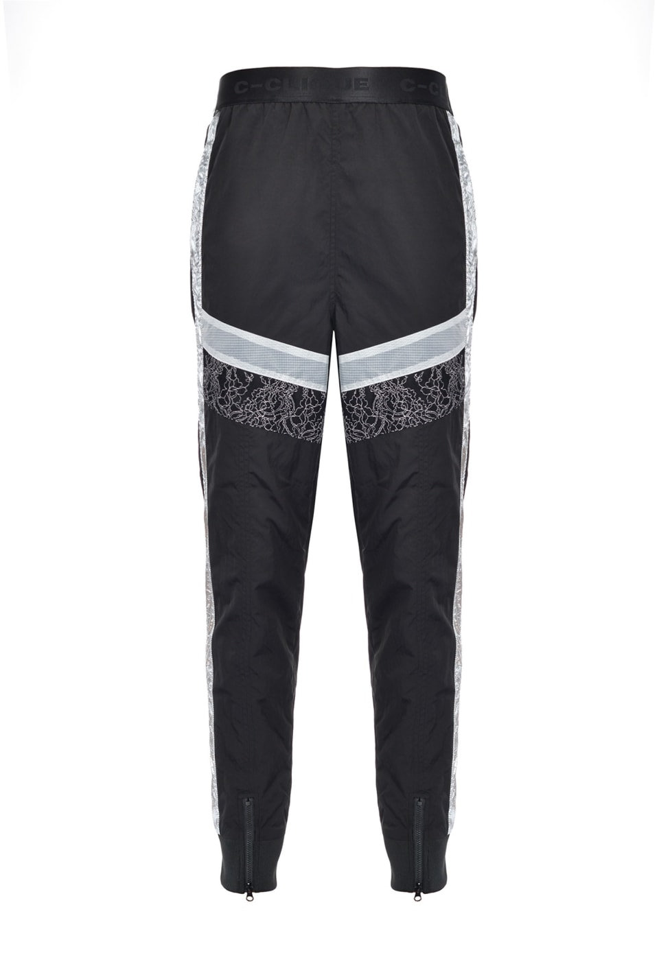 Joggers with lace