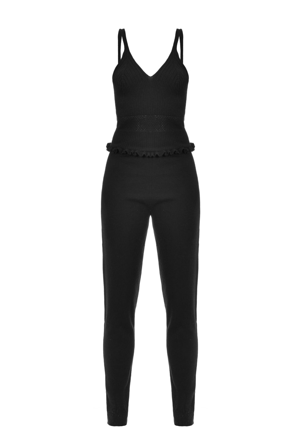 Wool and cashmere jumpsuit