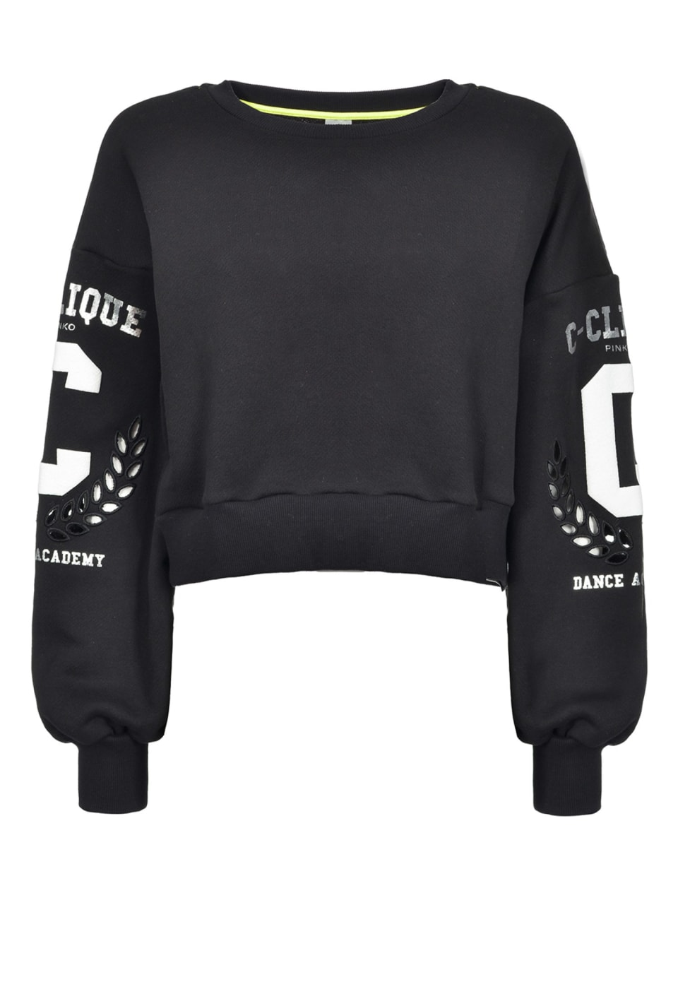 Cropped sweatshirt with logo
