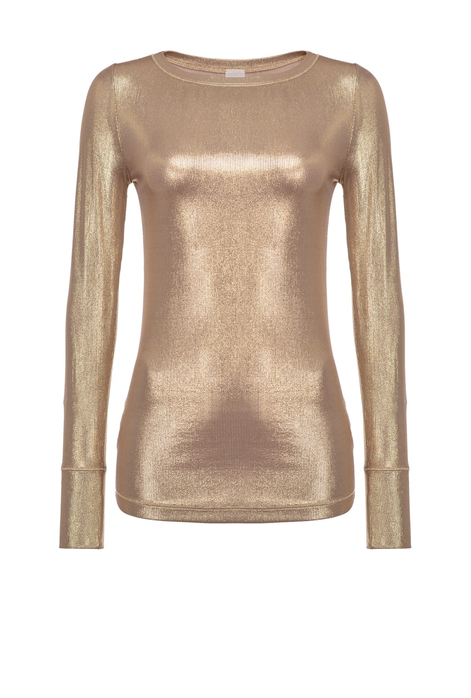 Ribbed laminated sweater - Pinko