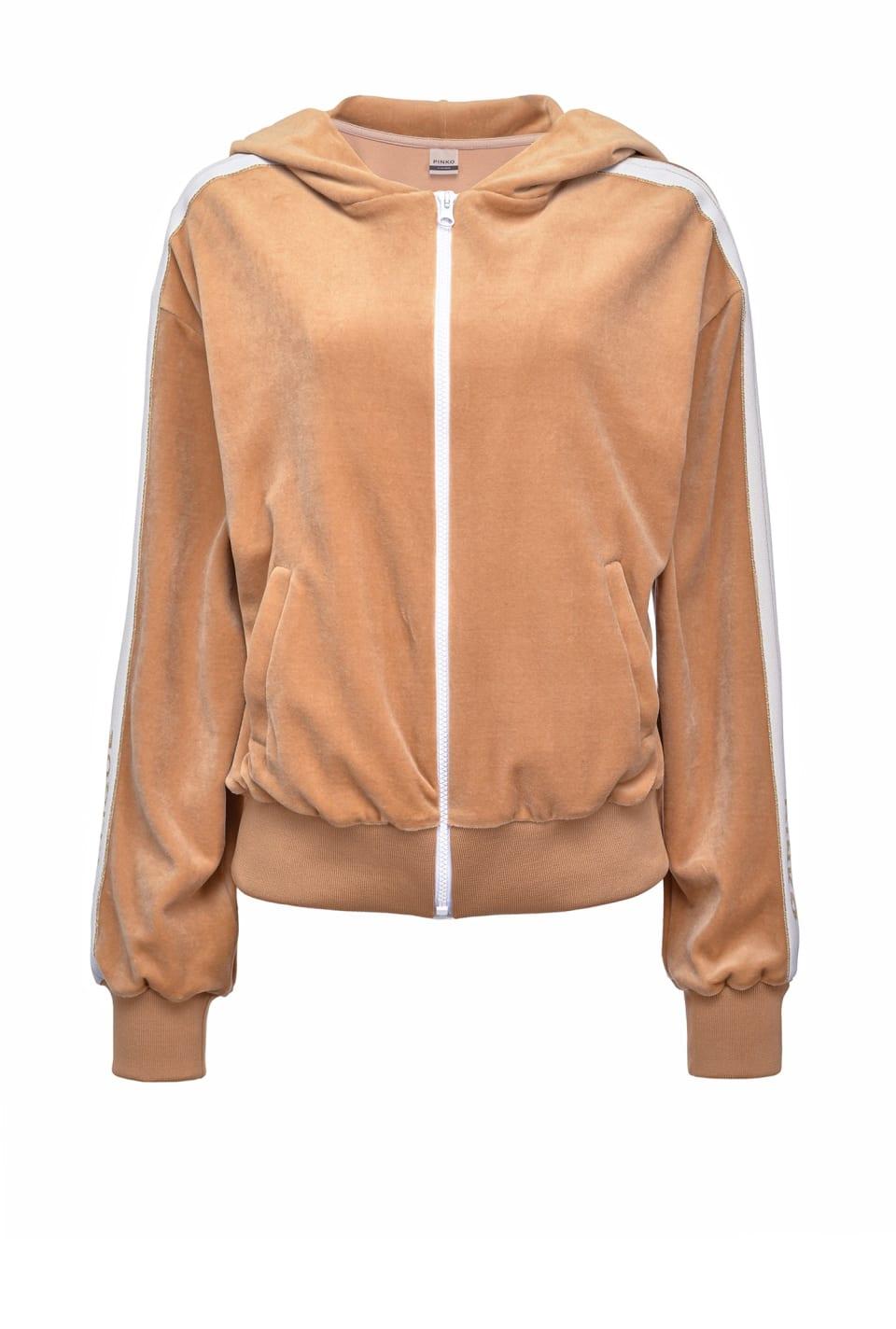 Chenille hoodie - Pinko