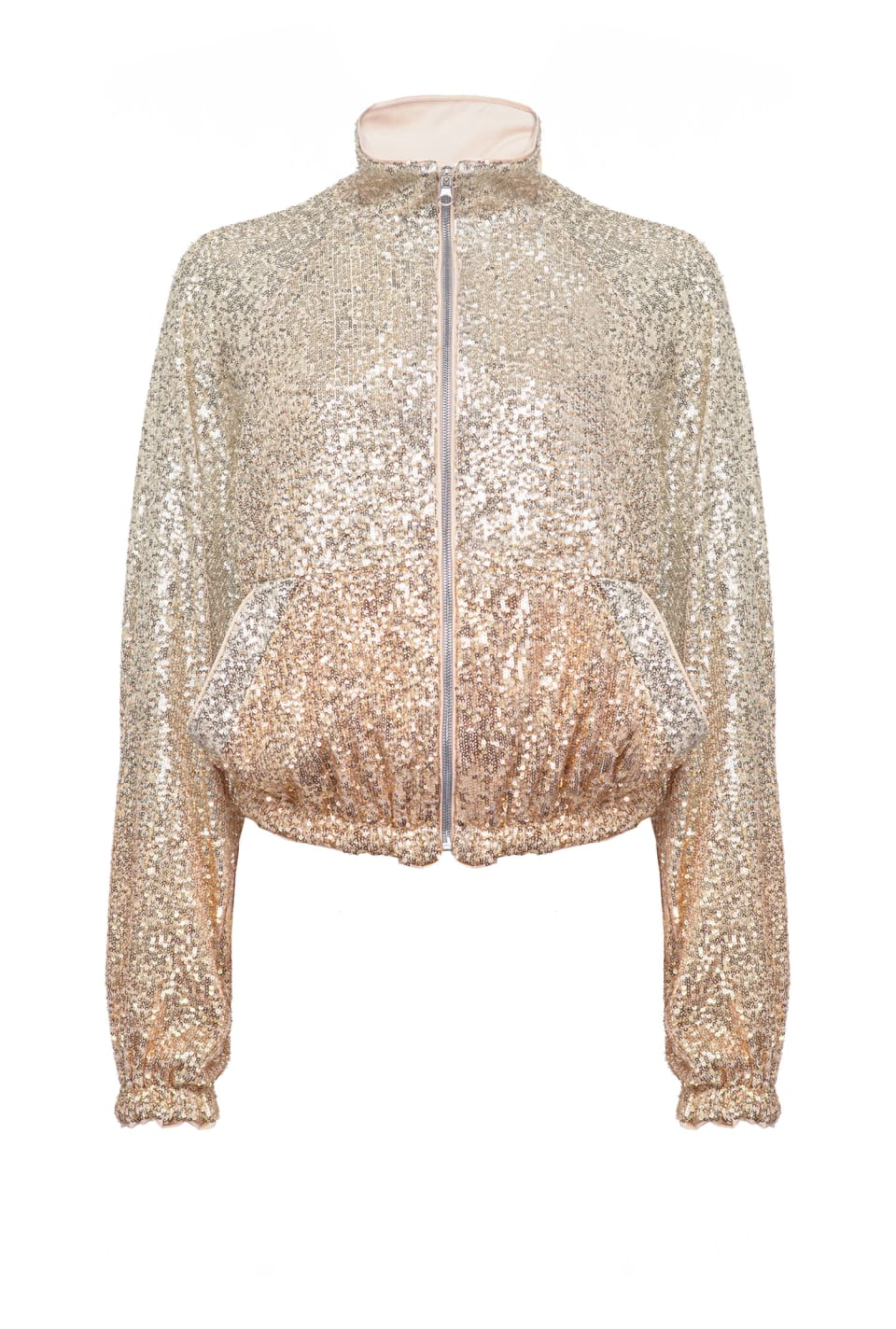 All-over ombré sequin raincoat - Pinko