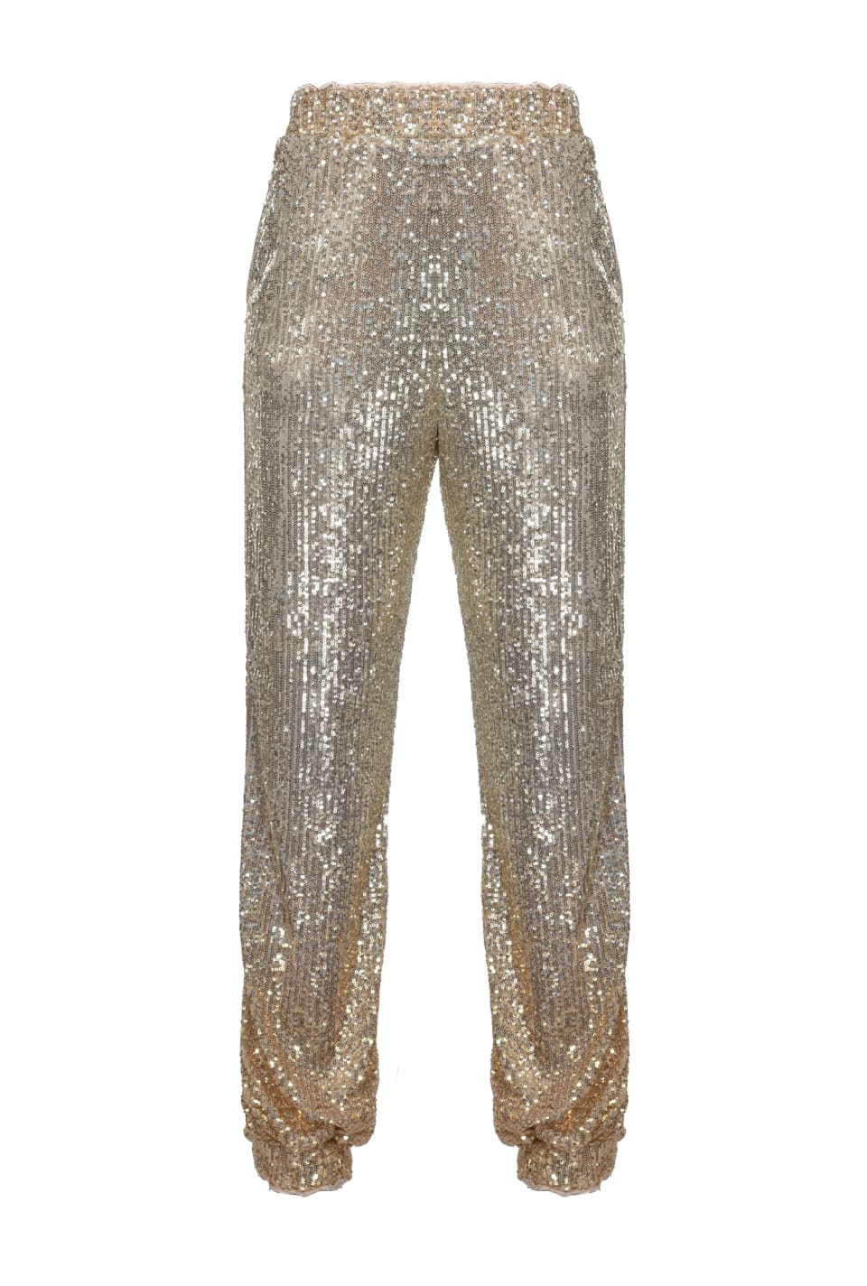 All-over ombré sequin joggers - Pinko