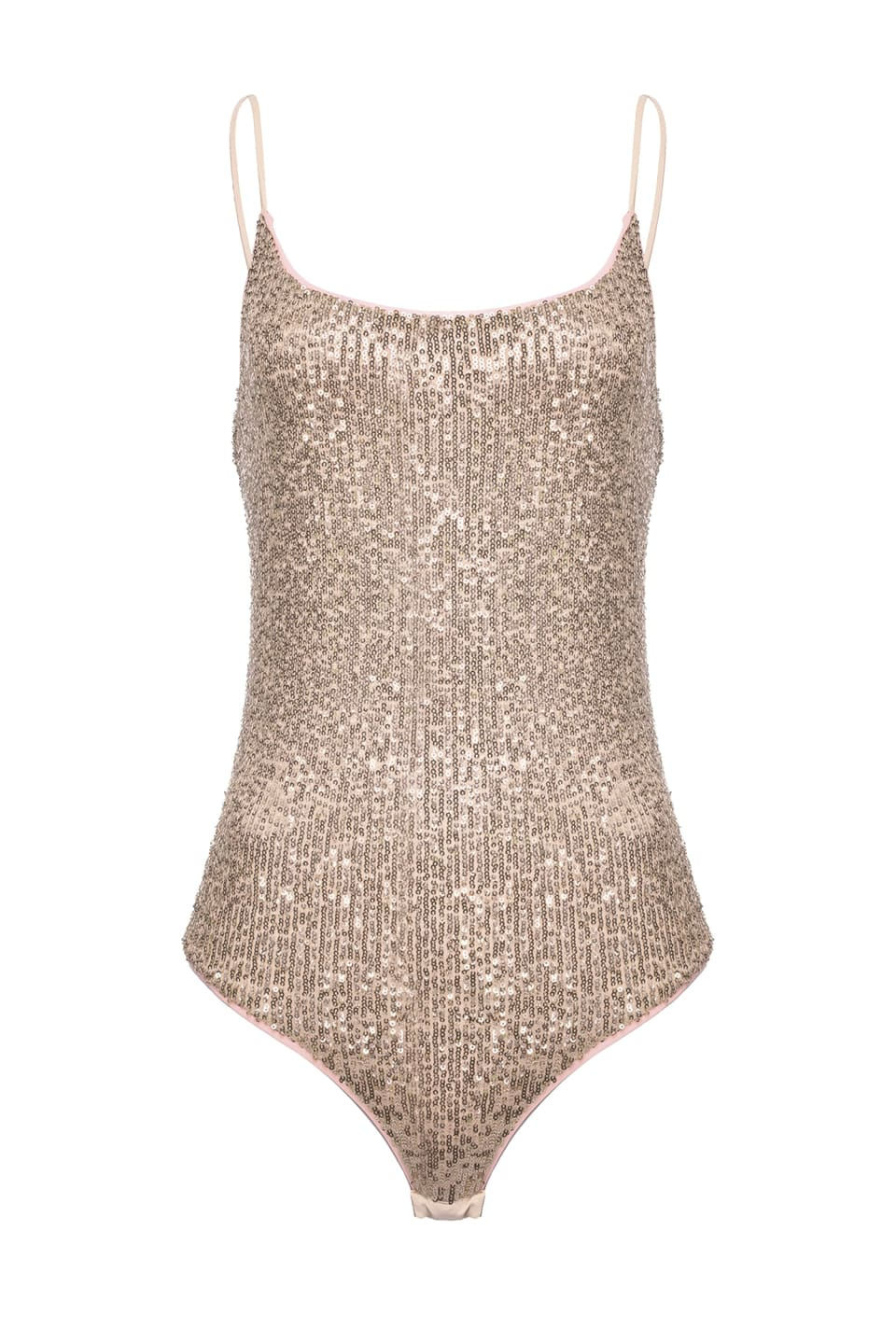 Bodysuit in full shaded sequins - Pinko