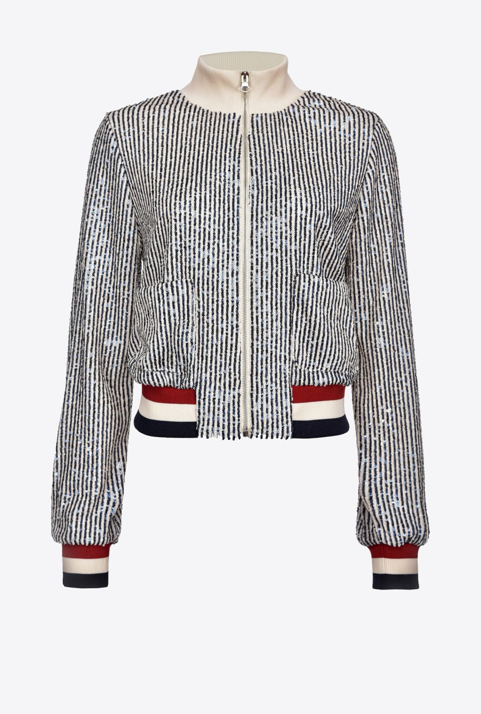 Full sequin bomber jacket - Pinko