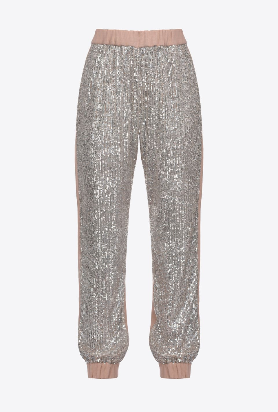 Fleece sequin joggers - Pinko