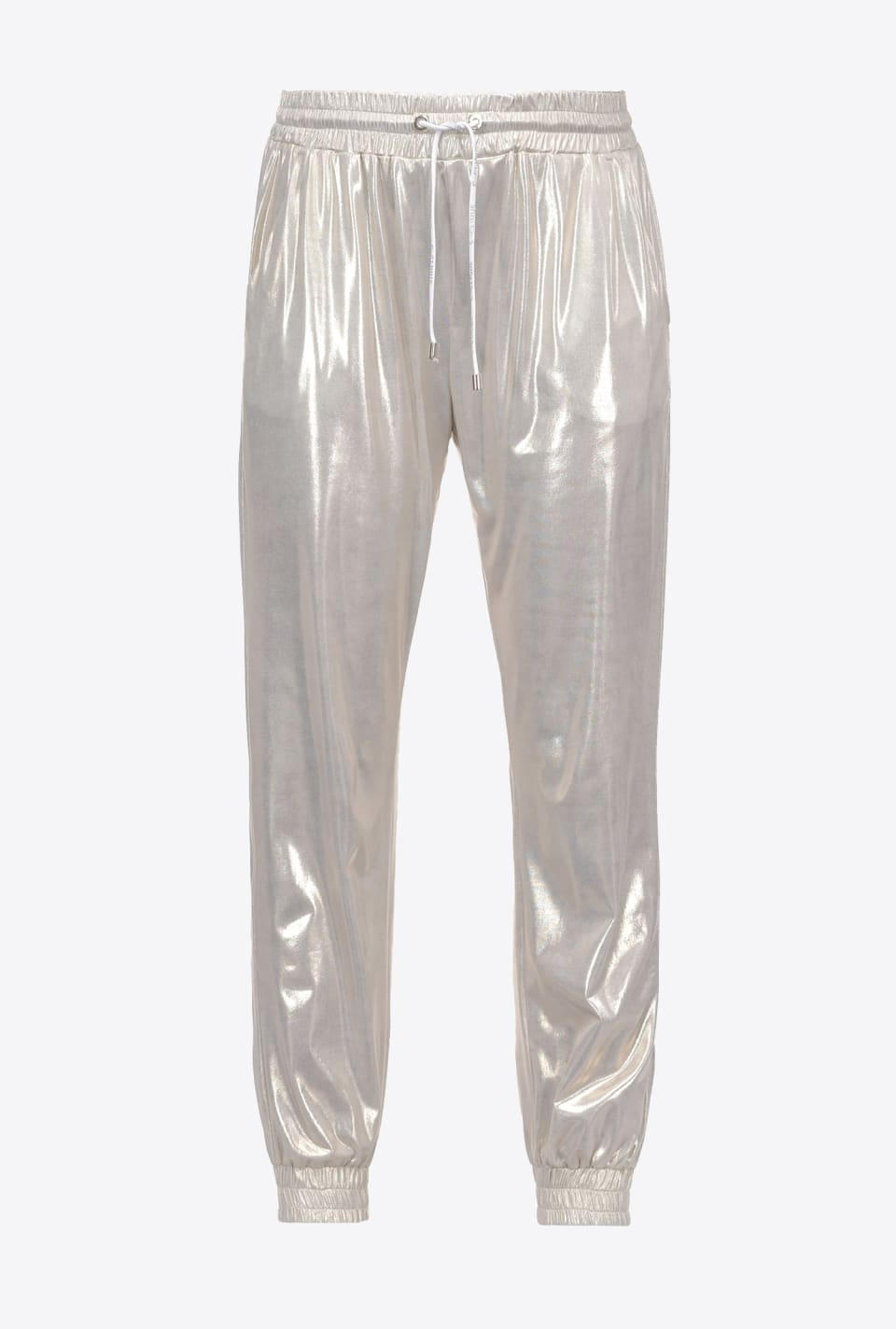 Laminated interlock joggers - Pinko