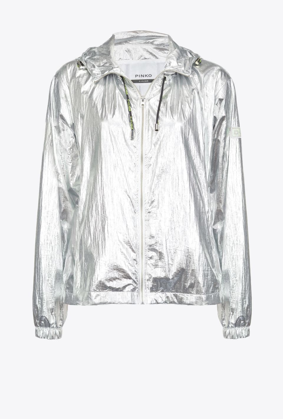 Short laminated raincoat - Pinko