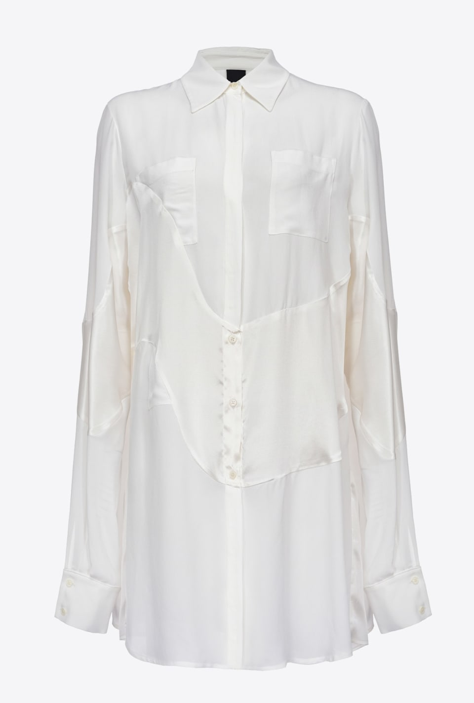 REIMAGINE cloud-effect shirt - Pinko