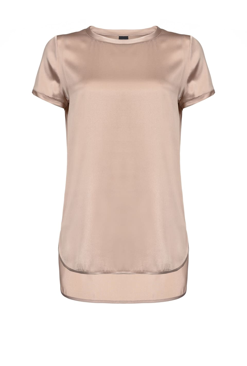 Stretch satin T-shirt - Pinko