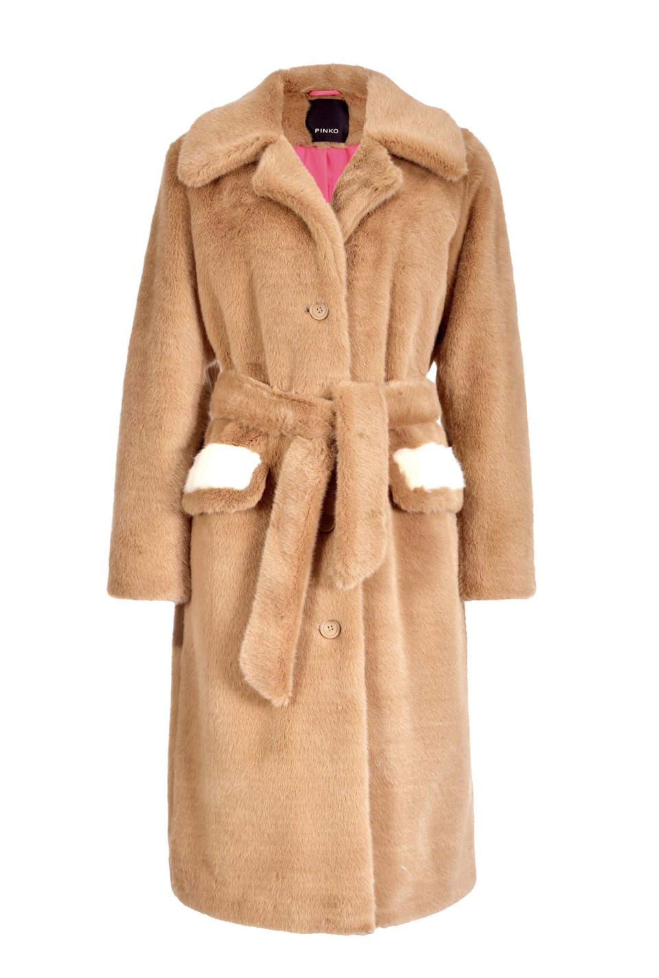 Mink effect coat
