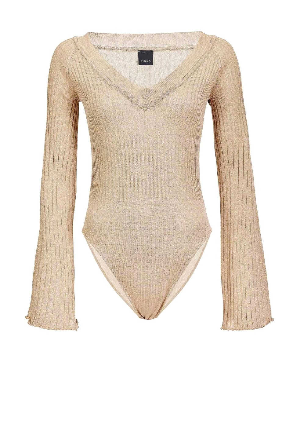 Lurex knit bodysuit