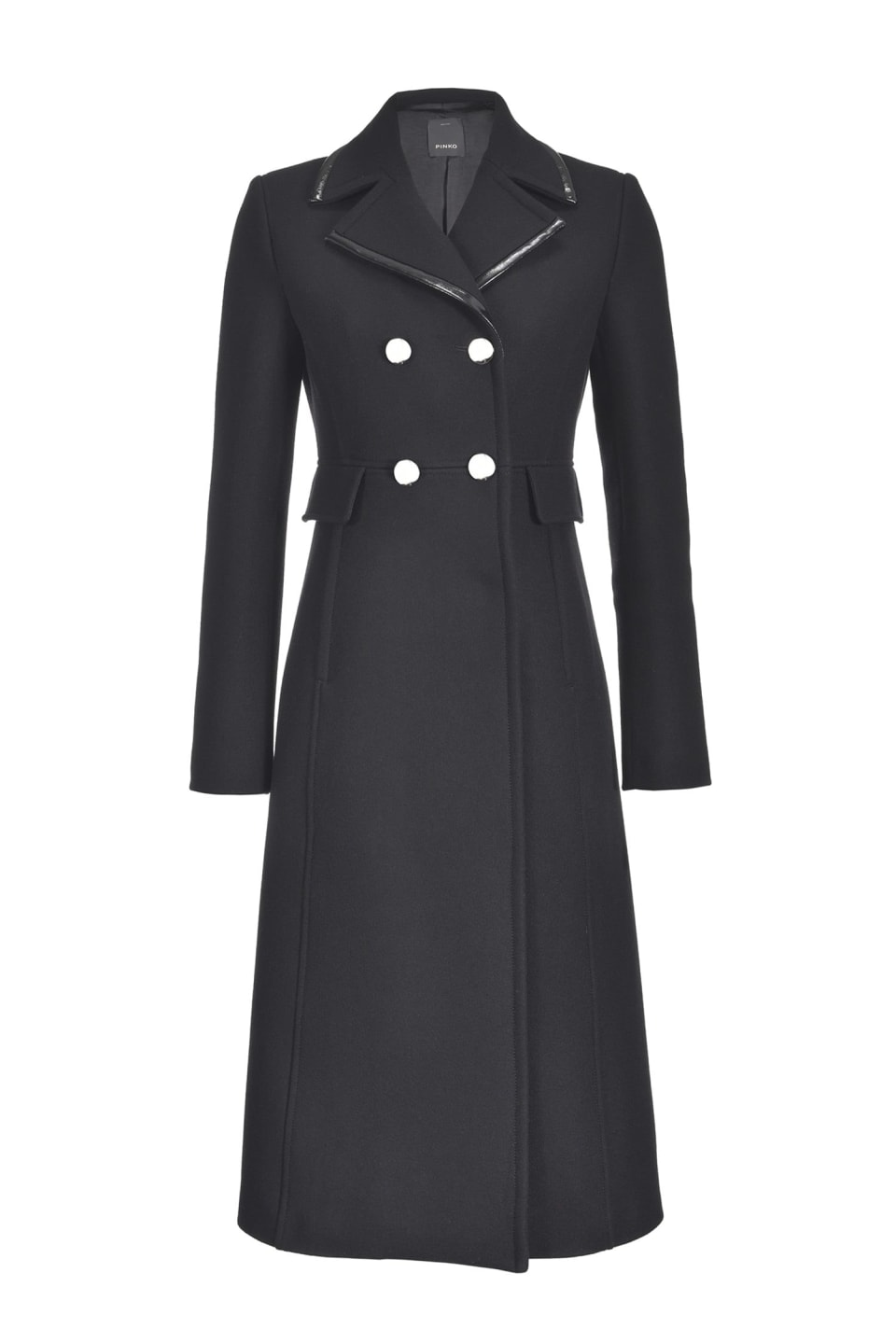 Long wool Melton coat