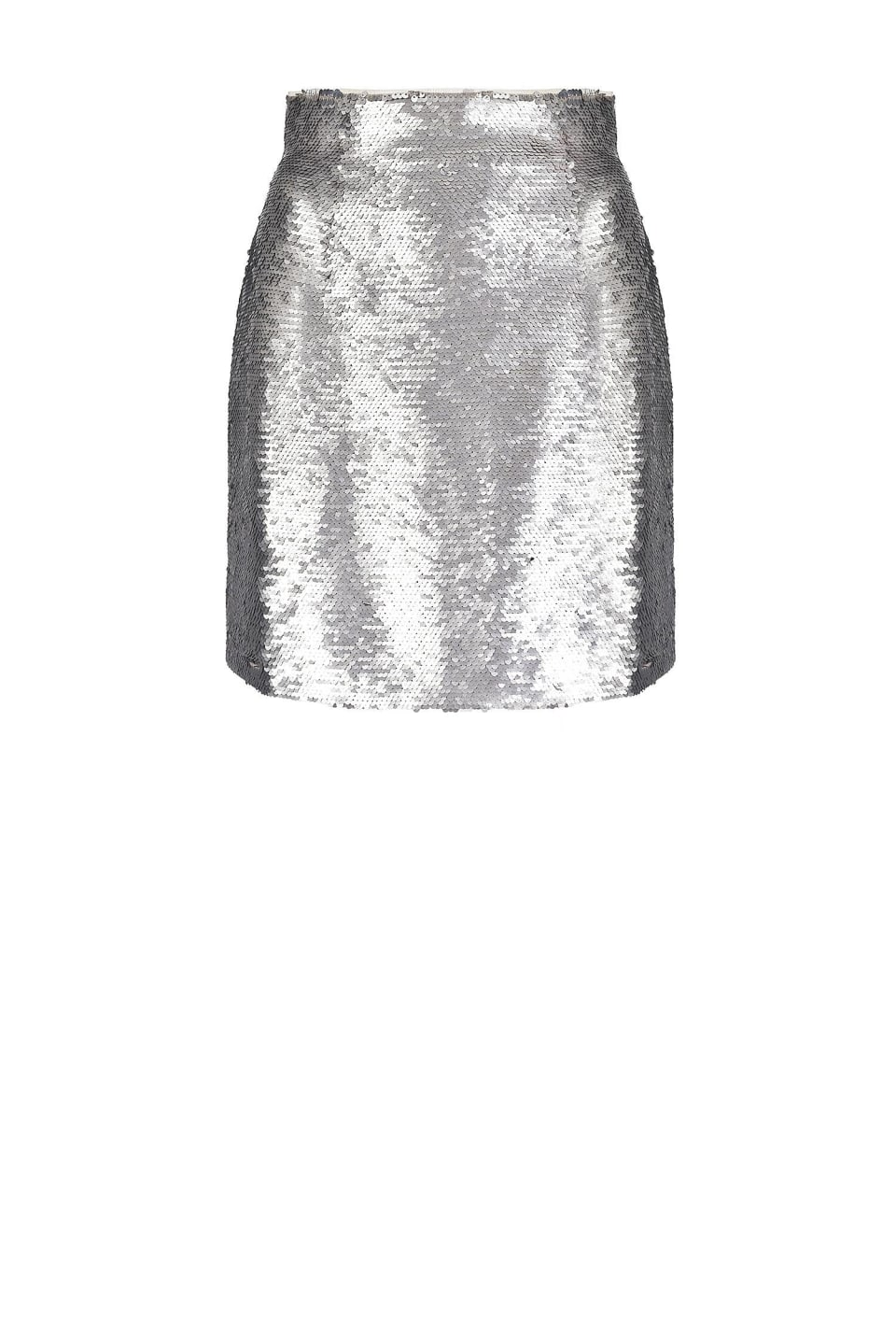 All-over sequin mini skirt