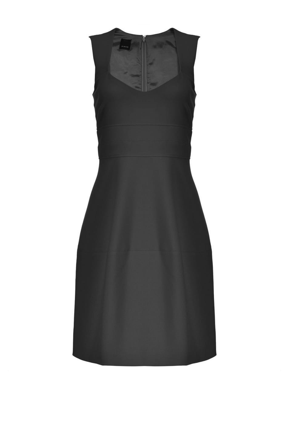 Technical sheath dress