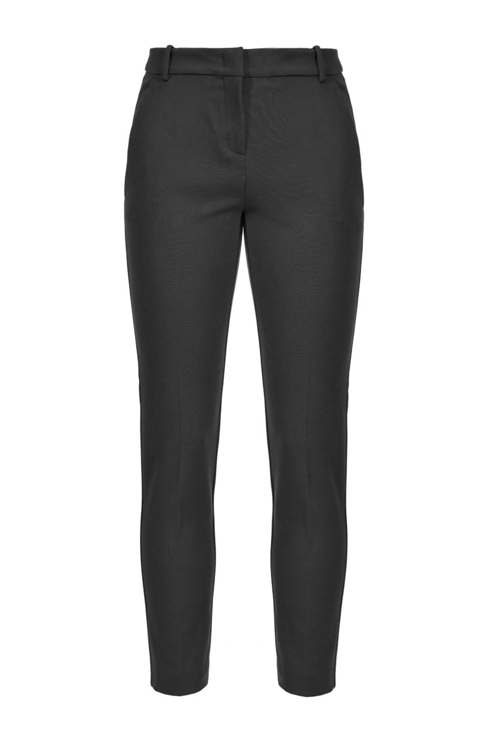 Milano stitch cigarette-fit trousers