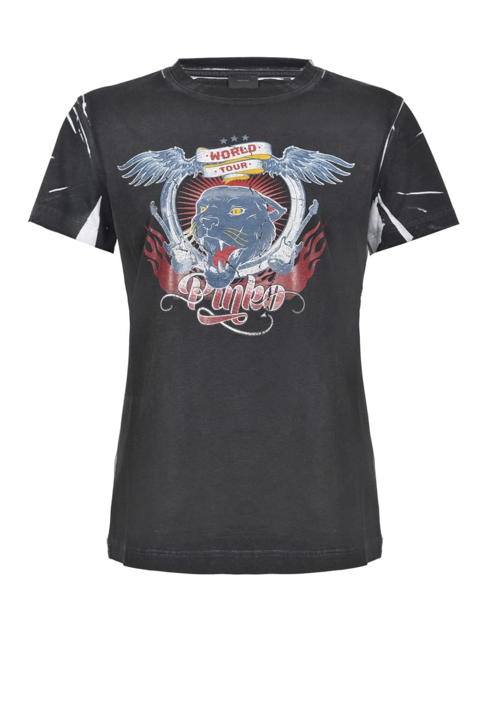 T-shirt with World Tour print