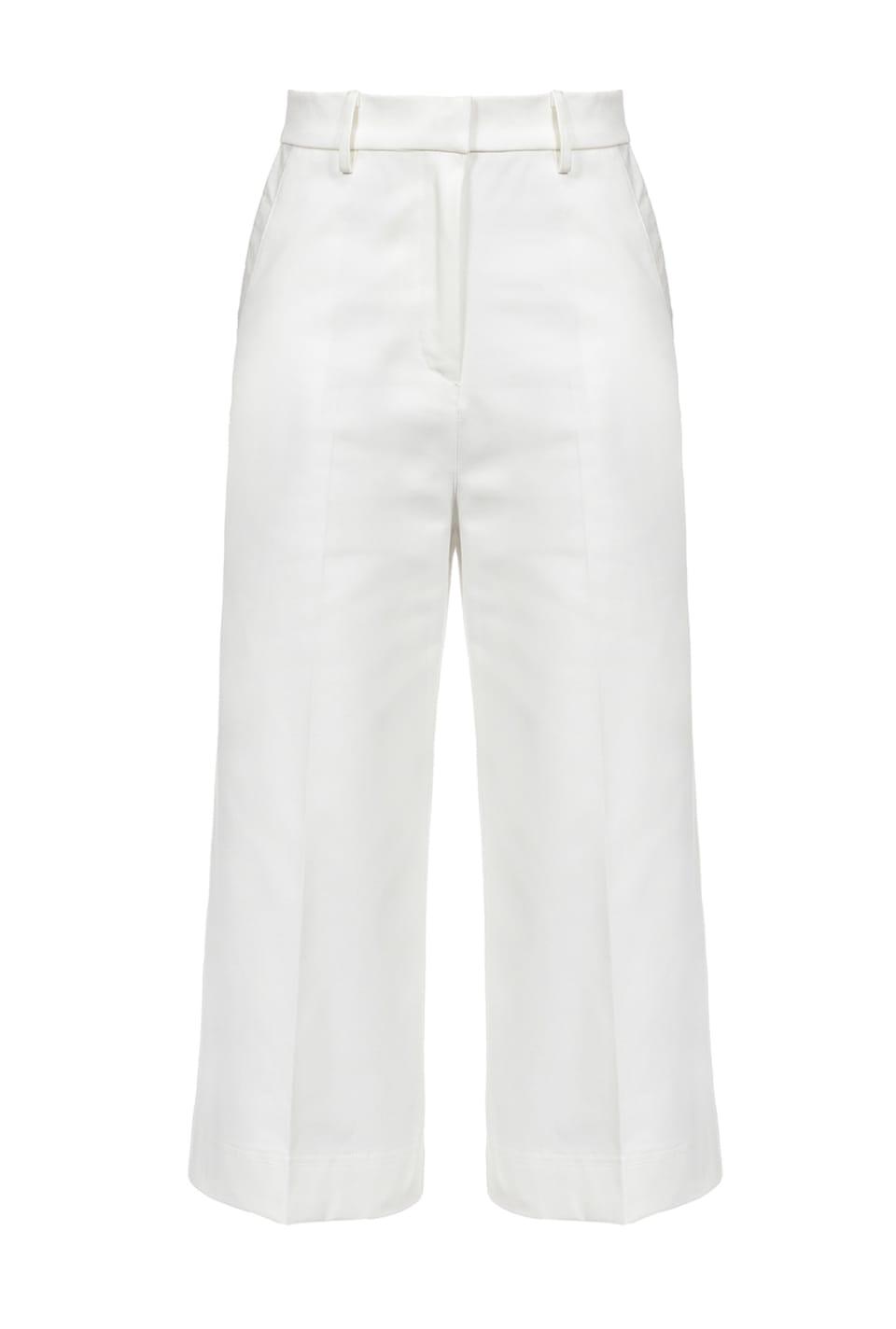 斜纹布裤裙式裤子