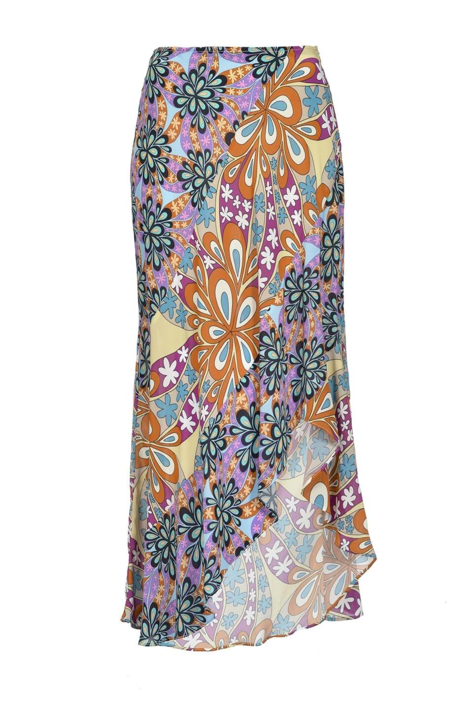 花朵半身裙