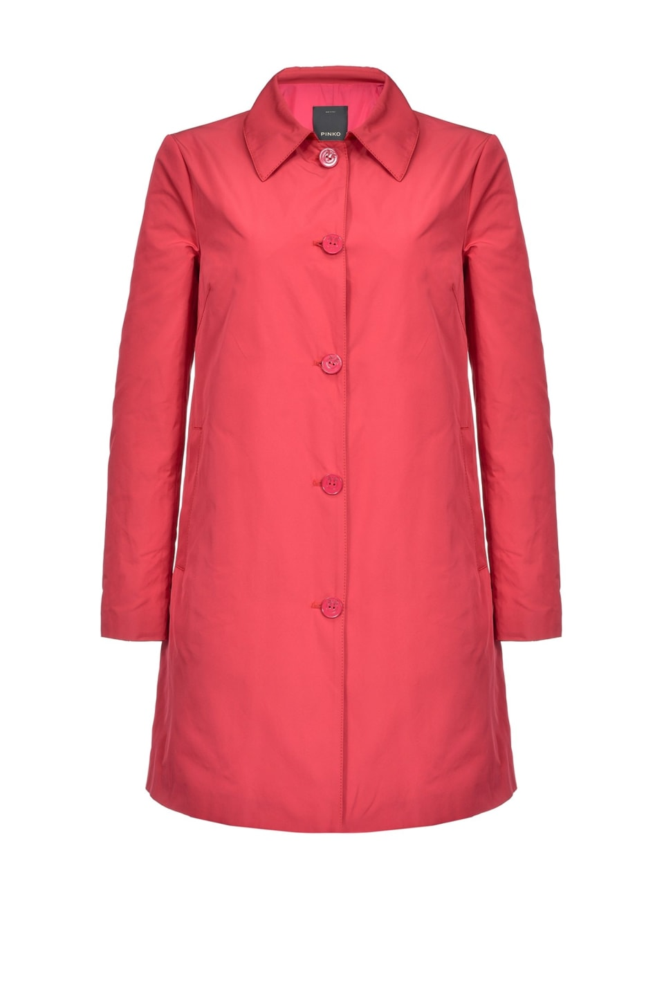 Lightweight taffeta coat