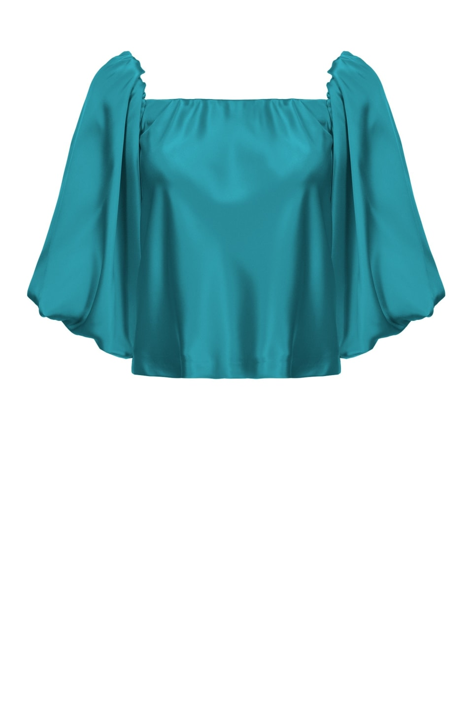 Blouse en satin