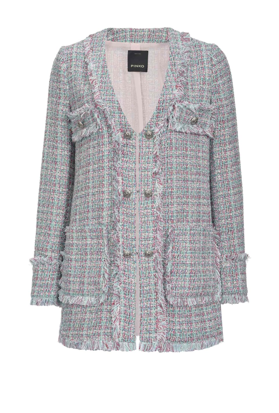 Lightweight tweed coat