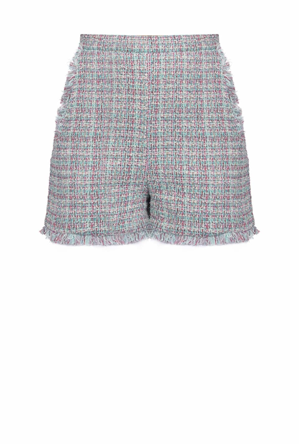 Shorts in tweed