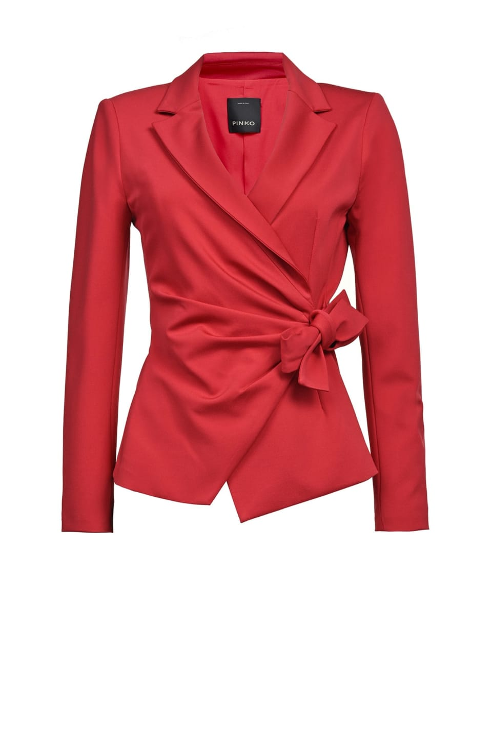 Blazer with bow