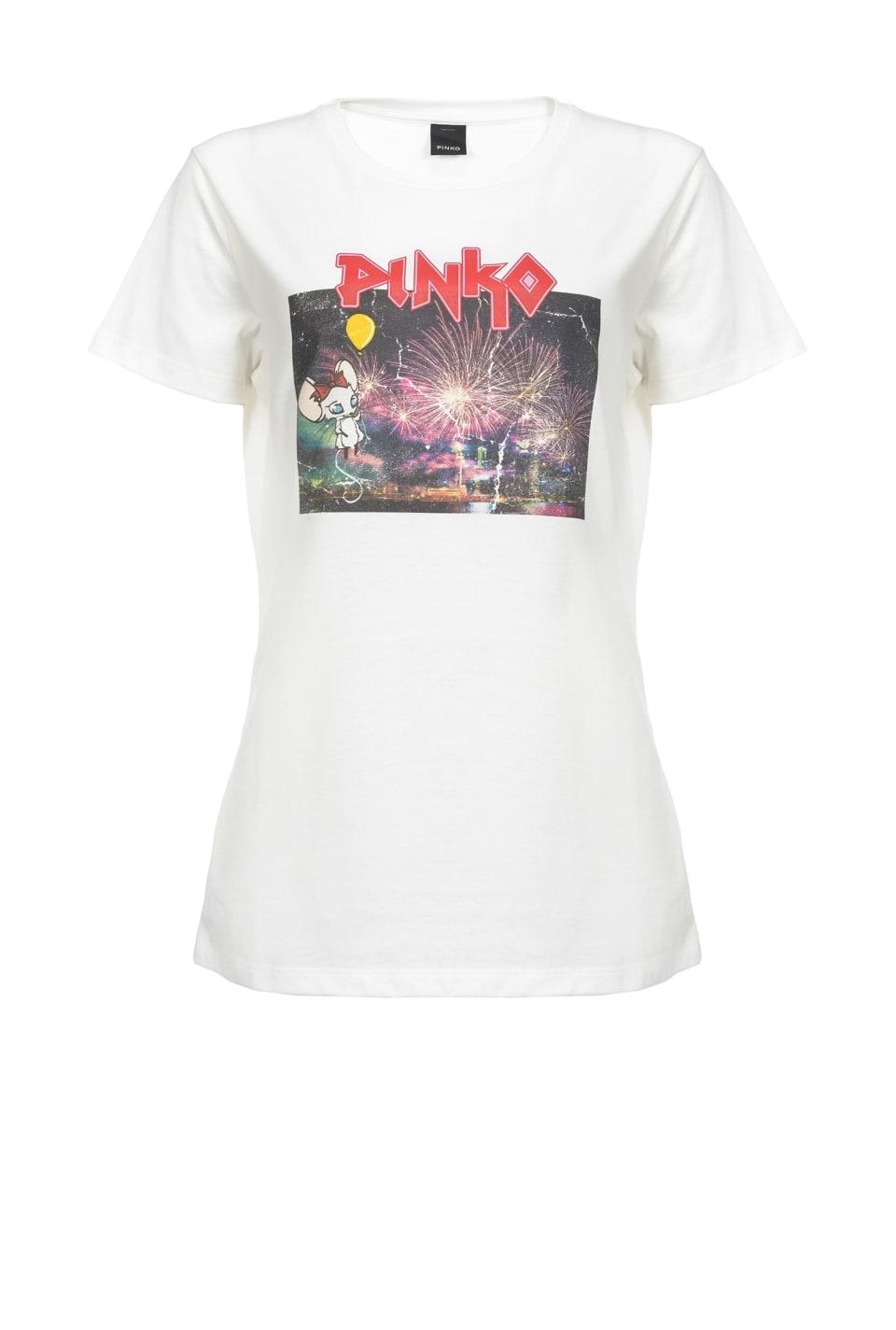 ロッキーマウス・ファイヤーワーク Tシャツ