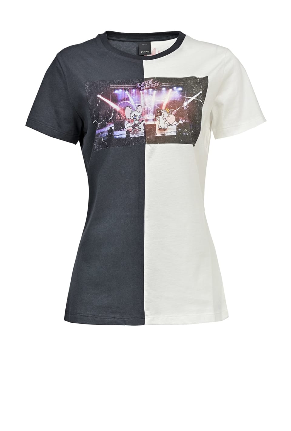 Two-tone Rocky Mouse Concert T-shirt