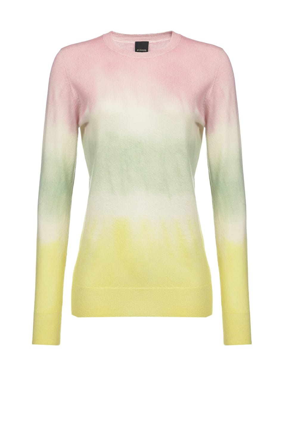 Pull tie and dye en cachemire